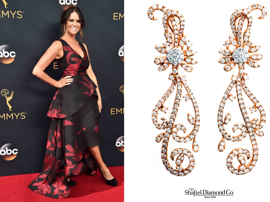 Amy-Landecker wearing Dan Henry Designs on the red carpet