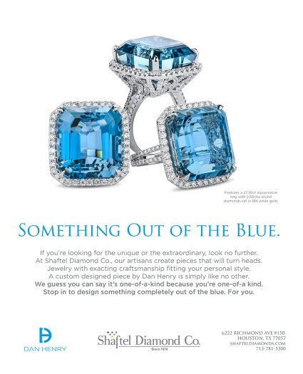 Dan Henry Jewelry Ad at Shaftel Diamond Company