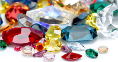 Group of Colored Gemstones