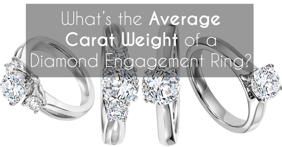 WHAT IS THE AVERAGE DIAMOND CARAT WEIGHT