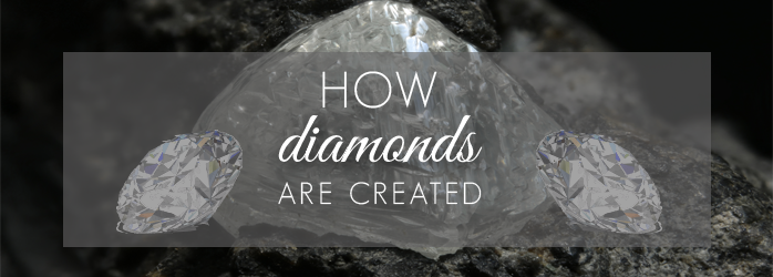 how diamonds are created picture
