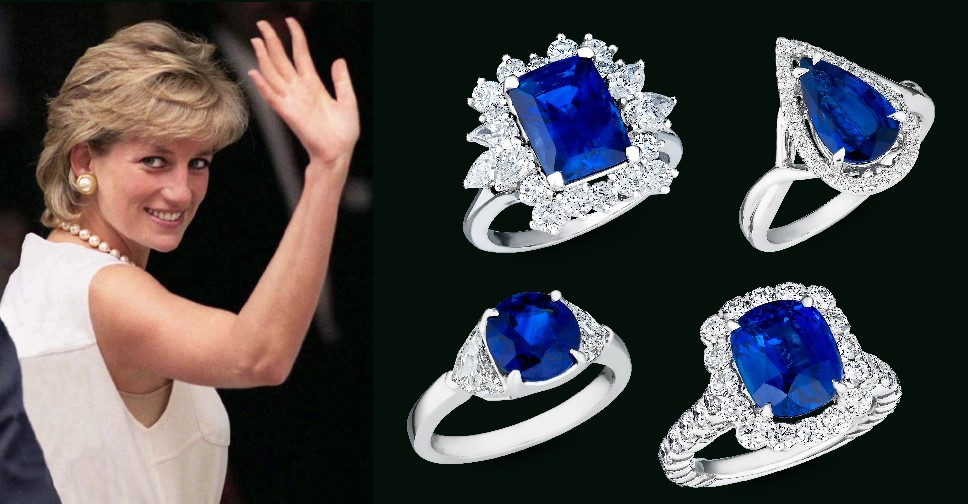Shire Enement Rings Fit For A Princess