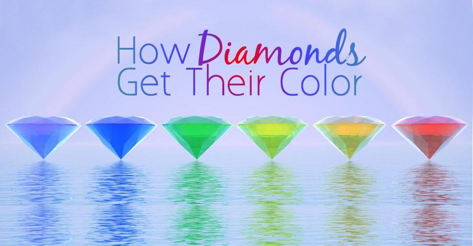 How Diamonds Get Their Color